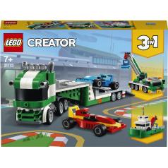 LEGO Creator 31113 Kamion pro přepravu závodních aut