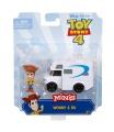 Mattel TOY STORY 4: příběh hraček minifigurka s vozidlem asst různé druhy