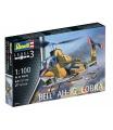 Revell Plastic ModelKit vrtulník 04954 - Bell AH-1G Cobra (1:100)