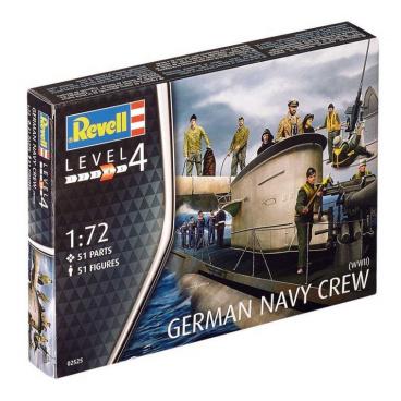 Revell Plastové figurky 02525 - German Navy Figures (1:72)