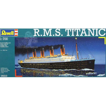 Revell model 05210 loď Plastic ModelKit - R.M.S. TITANIC (1:700)