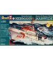 Revell 05812 loď ke slepení Plastic ModelKit - DGzRS Hermann Marwede (1:200)