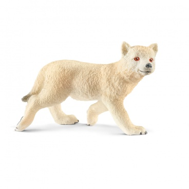 Schleich 14804 zvířátko - arktické vlčí mládě