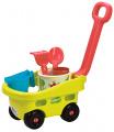 Ecoiffier Zahradní vozík s kyblíčkem a přísl.