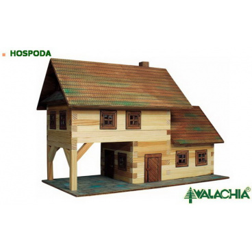 Walachia dřevěná stavebnice - Hospoda