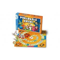 Bonaparte Rozprávkové hranie Večerníček, Človeče, nehnevaj sa spoločenská hra v krabici 35x23x4cm