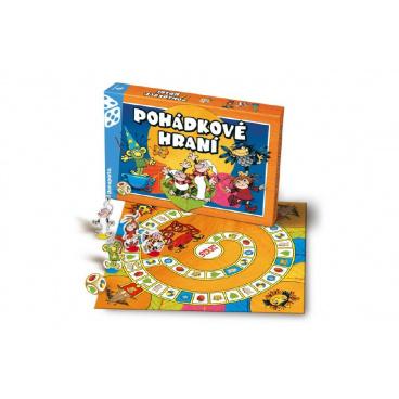Bonaparte Pohádkové hraní Večerníček společenská hra v krabici 35x23x4cm