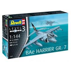Revell ModelSet letadlo 63887 - BAe Harrier GR.7 (1:144)