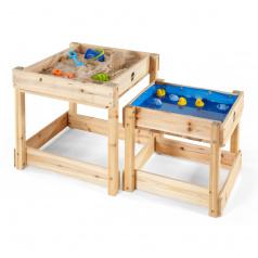 Plum Products Ltd. Dřevěné stolečky na hraní 2v1