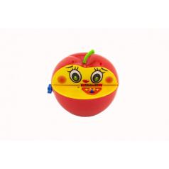 Rappa Pokladnička červené jablko s červíkem na klíček