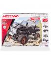 Meccano kovová stavebnice auta 4x4 Off-road truck 25 VARIANT S MOTOREM