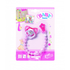 Zapf Creation BABY born® Dudlík se sponkou, 2 druhy asort, 824474