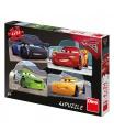 Dino dětské puzzle WD Cars 3: Rivalové 4x54D