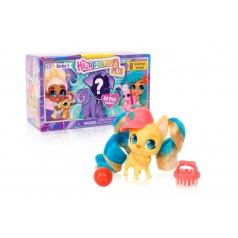 Hairdorables kouzelné panenky - mazlíčci série 1 plast překvapení s doplňky v krabičce 17x10x8cm