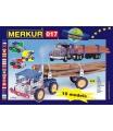 MERKUR  M017 kovová stavebnice Kamión stavebnice 202 dílů