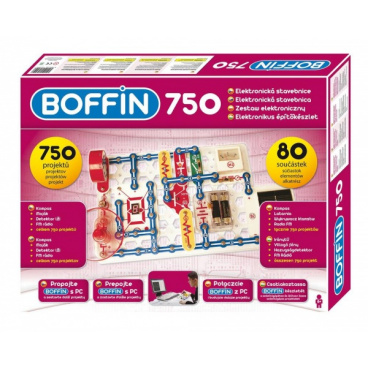 Boffin I 750 elektronická stavebnice