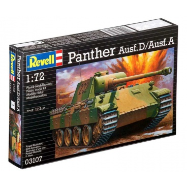 Revell Plastic ModelKit tank 03107 - PzKpfw. V Panther Ausf. D/Ausf. A (1:72)