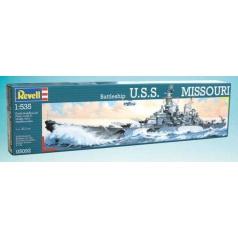 Revell Plastic ModelKit loď 05092 - Battleship USS Missouri (1:535)