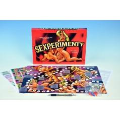 Pilgr Richard Sexperimenty společenská hra pro dospělé v krabici 33x23x3cm