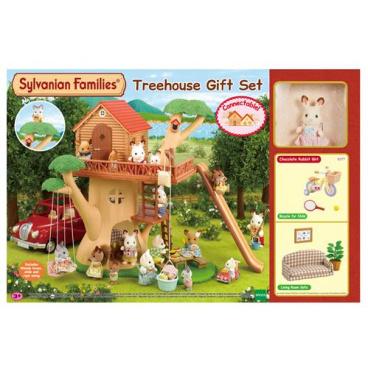 Sylvanian Families 5277 Dárkový set - Dům na stromě s příslušenstvím