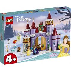 LEGO Disney 43180 Bella a zimná oslava na zámku