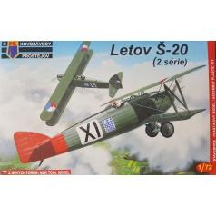 Kovozávody Prostějov Letov Š-20 Late 1:72