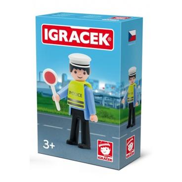 IGRÁČEK - Dopravní policista s doplňky