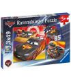 Ravensburger dětské puzzle Disney Auta Dobrodružství na silinici 3x49 dílků