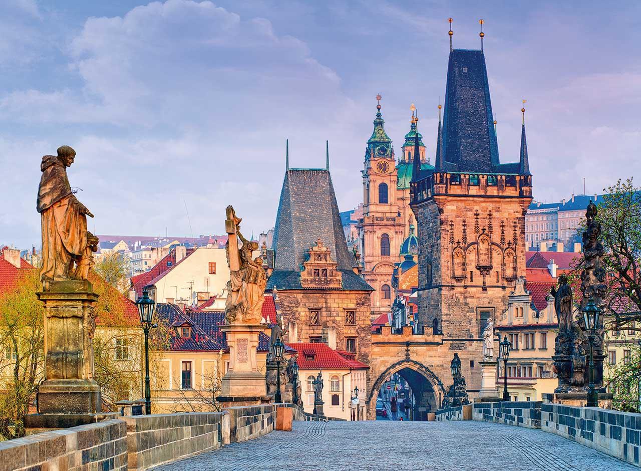 Ravensburger puzzle Krása Prahy 300 dílků
