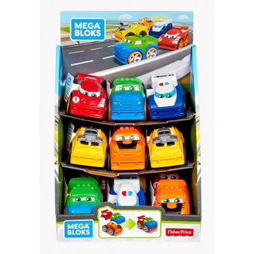 Mattel Mega Bloks mattel MEGA BLOKS ZÁVODNÍ AUTA ASST různé druhy
