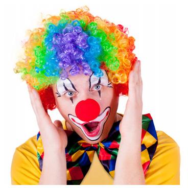 Rappa Paruka klaun barevná pro dospělé