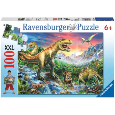 Ravensburger dětské puzzle Dinosauři 100d XXL