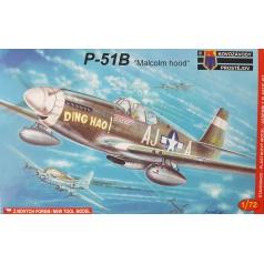 Kovozávody Prostějov P-51B Malcolm model letadla 1:72