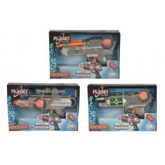 Planet Fighter Simba Planet Fighter zbraň 22cm, 3 druhy