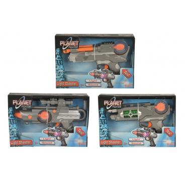 Simba Planet Fighter zbraň 22cm, 3 druhy