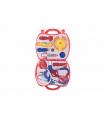 Teddies Sada doktor/lékař plast v plastovém kufříku v blistru 23x40x4cm