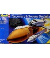 Revell Plastic ModelKit vesmír 04736 - Space Shuttle Discovery+Booster Rockets (1:144)