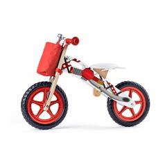 Woody 93066 Odrážedlo motorka, červená
