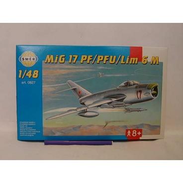 Směr modely plastové MIG 17 PF/PFU             1:48