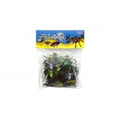 Teddies Zvieratko/hmyz plast 5-10cm 32ks v sáčku