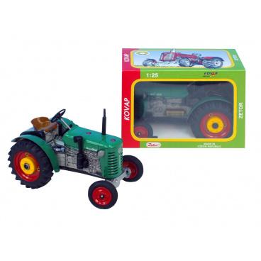 Kovap Traktor 0383 ZETOR 25A zelený - kovový model