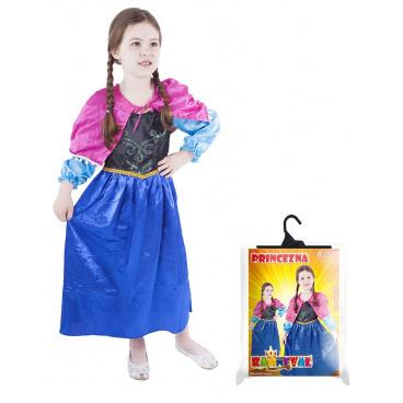 Rappa Dětský kostým princezna zimní království (M)