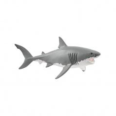 Schleich 14809 zvířátko - velký bílý žralok