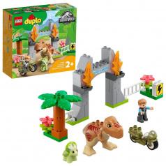 LEGO Duplo 10939 T-rex a triceratops na úteku