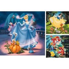 Ravensburger dětské puzzle Disney Princezny             3x49d