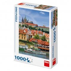 Dino puzle Pražský hrad 1000D