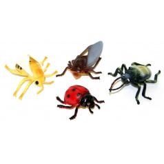 rappa hračky hmyz v sáčku, 4ks