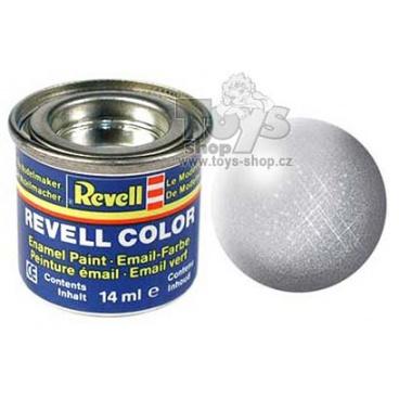 Revell emailová barva 32190 metalická stříbrná