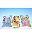 SMT Creatoys 3D Obrázek mozaika s kamínky lepení podle čísel 23x32cm asst