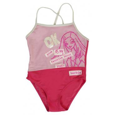 """Dívčí plavky """"Barbie"""" růžové, vel.10 #10"""